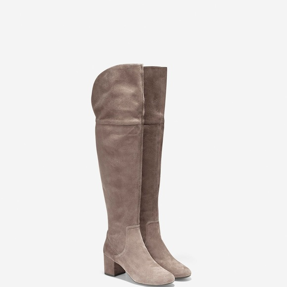 289bf2c30c7 COLE HAAN NWT OVER THE KNEE RAINA BOOTS SZ 9.5